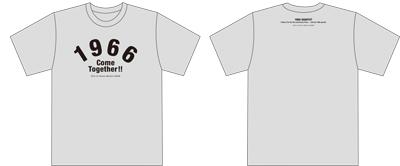 1966 QUARTET 〜Thank U for the 5th anniversary Party〜 オリジナルTシャツ