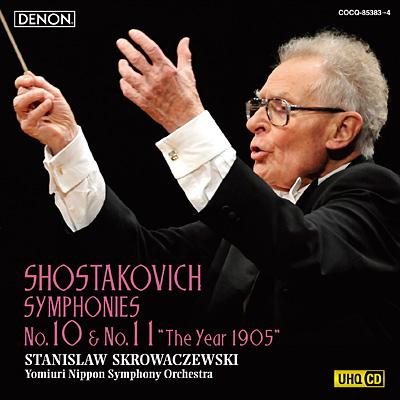 ショスタコーヴィチ:交響曲第10番&第11番〔UHQCD〕