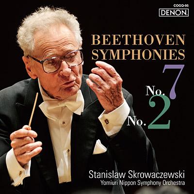 ベートーヴェン:交響曲第7番&第2番