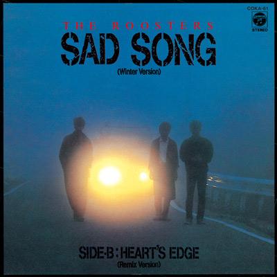 SAD SONG (WINTER VERSION)/HEART'S EDGE (REMIX)【7inchアナログ】