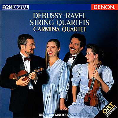 ドビュッシー&ラヴェル:弦楽四重奏