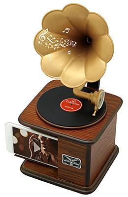 インテリア蓄音器 コロンブス「長崎の鐘」バージョン