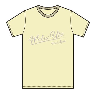 「ツアー2016〜魂うた」Tシャツ・シャーベットイエロー(XL)