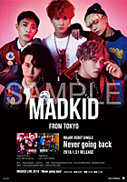 「Never going back」B2ポスター(Ver.A)