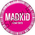 MADKIDロゴオリジナル缶バッジ(DDDisc)