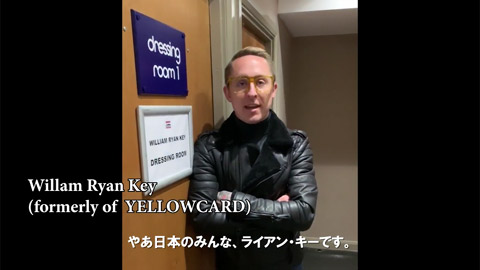 AIRFLIP(エアーフリップ)/Willam Ryan Key (formerly of YELLOWCARD) Message