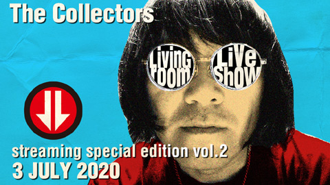 "ザ・コレクターズ/THE COLLECTORS streaming rock channel ""LIVING ROOM LIVE SHOW"" Vol.2 trailer"