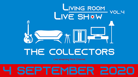 "ザ・コレクターズ/THE COLLECTORS streaming rock channel ""LIVING ROOM LIVE SHOW"" Vol.4 trailer"