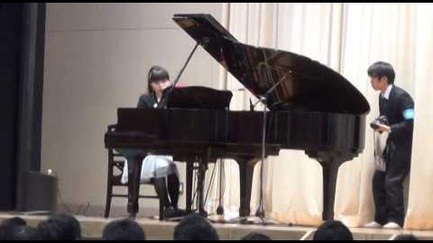 【2014.03.01】茨城県立那珂高校卒業式でサプライズLIVE/
