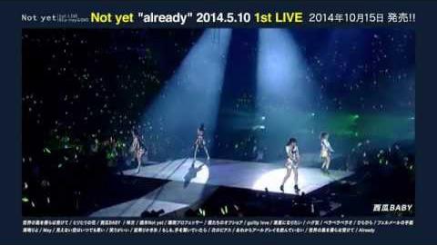 ライブBlu-ray & DVD『Not yet