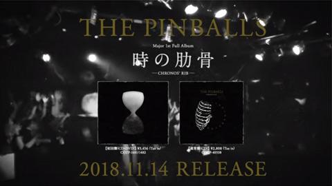 THE PINBALLS/メジャー1stフルアルバム『時の肋骨』トレーラー