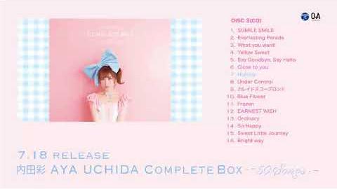 /アルバム『AYA UCHIDA Complete Box 〜50 Songs〜』DISC-3 ダイジェスト試聴