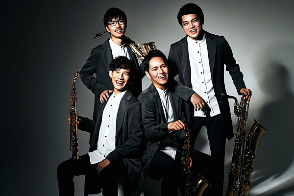 上野耕平・The Rev Saxophone Quartet