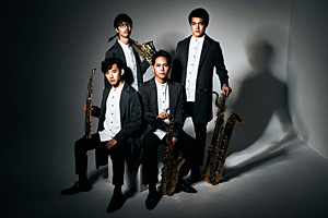 The Rev Saxophone Quartet Amazon限定絵柄ポストカード