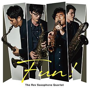 The Rev Saxophone Quartet 応援店ジャケット絵柄ポストカード