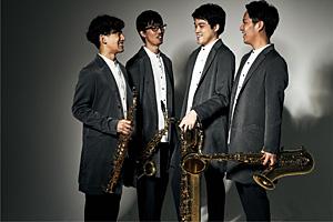 The Rev Saxophone Quartet ワンダーグー限定絵柄ポストカード