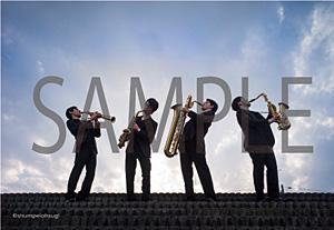 The Rev Saxophone Quartet銀座山野楽器オリジナルポストカード