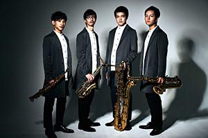 The Rev Saxophone Quartet 山野楽器限定絵柄ポストカード