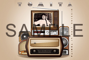 『MISSING LINK of TOMITA ~日本コロムビア初期作品集 1953-1974~』タワーレコード オリジナル特典 ポストカード