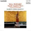 クレスト1000シリーズ<BR>モーツァルト:弦楽四重奏曲「ハイドン・セット」-3