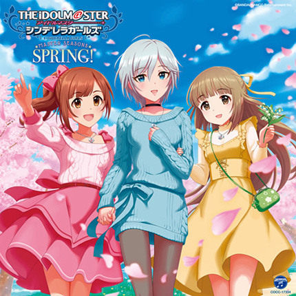 アイドルマスター the idolm ster cinderella girls master seasons spring