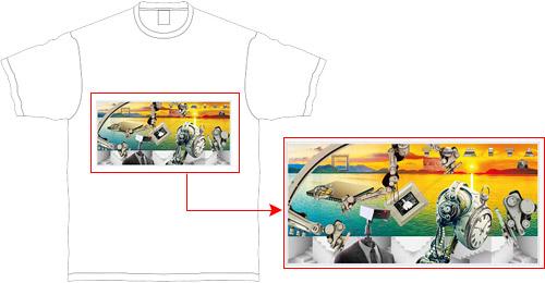 展覧会の絵Tシャツ
