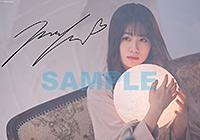 HMV:オリジナル絵柄ブロマイド(複製サイン入り)