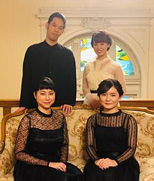 秋田勇魚、石上真由子、鈴木玲奈、古海行子