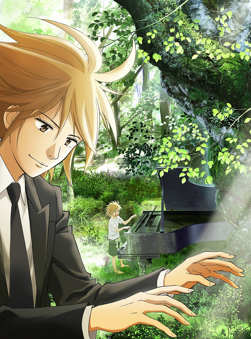 TVアニメ「ピアノの森」音楽情報...