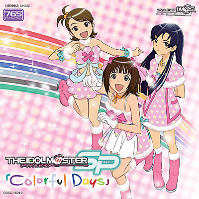 """THE IDOLM@STER MASTER SPECIAL 765 """"Colorful Days""""《通常盤》"""