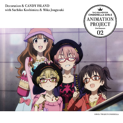 THE IDOLM@STER CINDERELLA GIRLS ANIMATION PROJECT 2nd Season 02 私色ギフト & Heart Voice