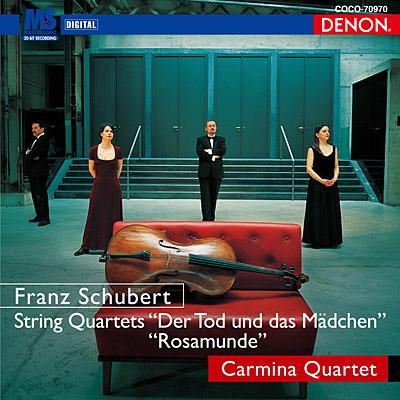 クレスト1000シリーズ<br>シューベルト:弦楽四重奏曲第14番《死と少女》/13番《ロザムンデ》