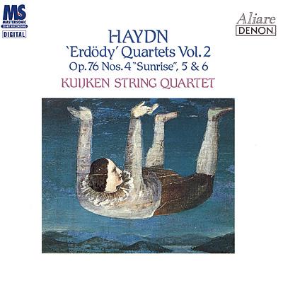 ハイドン:弦楽四重奏曲第78《日の出》・79・80番