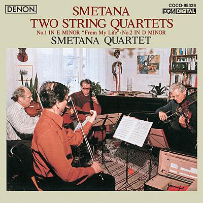 スメタナ:弦楽四重奏曲第1番《わが生涯より》&第2番〔UHQCD〕