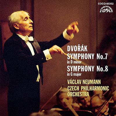 ドヴォルザーク:交響曲第7番&第8番〔UHQCD〕