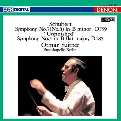 シューベルト:交響曲第7番《未完成》&第5番〔UHQCD〕