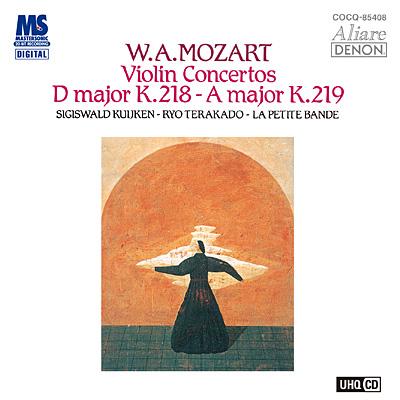 モーツァルト:ヴァイオリン協奏曲第4番、第5番〔UHQCD〕