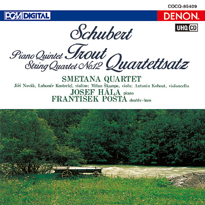 シューベルト:ピアノ五重奏曲《ます》、四重奏断章〔UHQCD〕