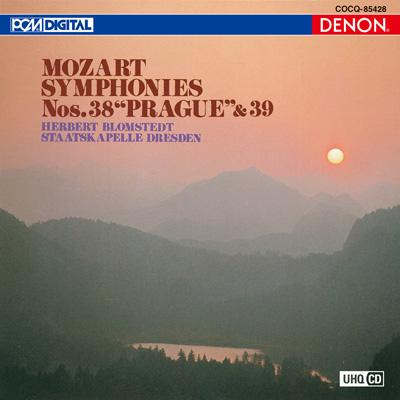 モーツァルト:交響曲第38番《プラハ》&第39番〔UHQCD〕