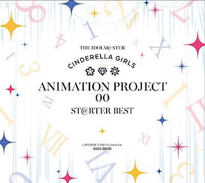 THE IDOLM@STER CINDERELLA MASTER ANIMATION PROJECT 00 ST@RTER BEST