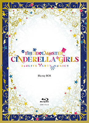 THE IDOLM@STER CINDERELLA GIRLS 2ndLIVE PARTY M@GIC!! Blu-ray BOX