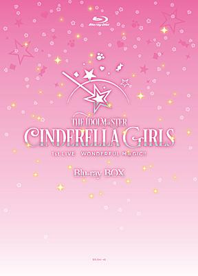 THE IDOLM@STER CINDERELLA GIRLS 1stLIVE WONDERFUL M@GIC!! Blu-ray BOX