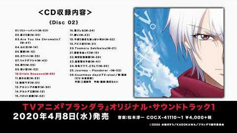 TVアニメ「プランダラ」オリジナル・サウンドトラック1 DISC-2