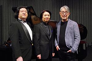 松本隆、鈴木 准(テノール)、巨瀬励起(ピアノ)